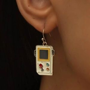 ✨ FREE Game Console Drop Hanging Play Earrings